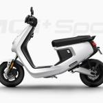 Elektr scooter MQi+ 25 zwart Lite Standaard Range