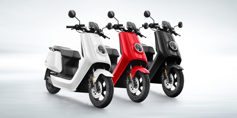 Niu Elektr scooter NQi1S Lite Standaard Range